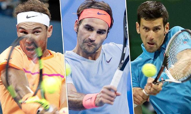 "Đua số 1 tennis 2018: Nadal, Federer khó cản ""Vua Djokovic"" - 1"