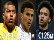 Tin HOT bóng đá tối 5/12: Mbappe đắt giá nhất lứa tuổi U21