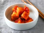 Cách làm kim chi củ cải chua chua, giòn giòn ăn gì cũng ngon