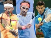"Đua số 1 tennis 2018: Nadal, Federer khó cản  "" Vua Djokovic """