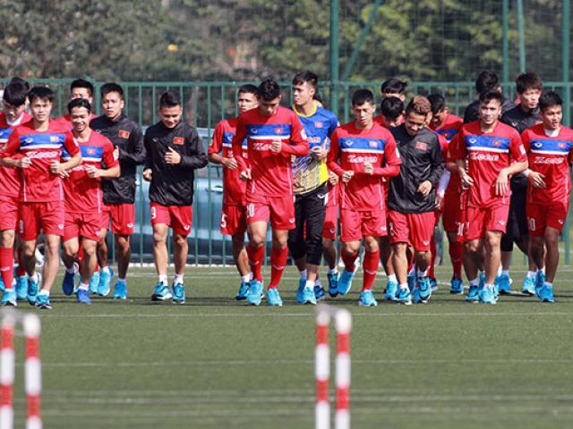 U23 Việt Nam đá giải Thái Lan: Công Phượng dẫn đầu, Tuấn Anh bị loại