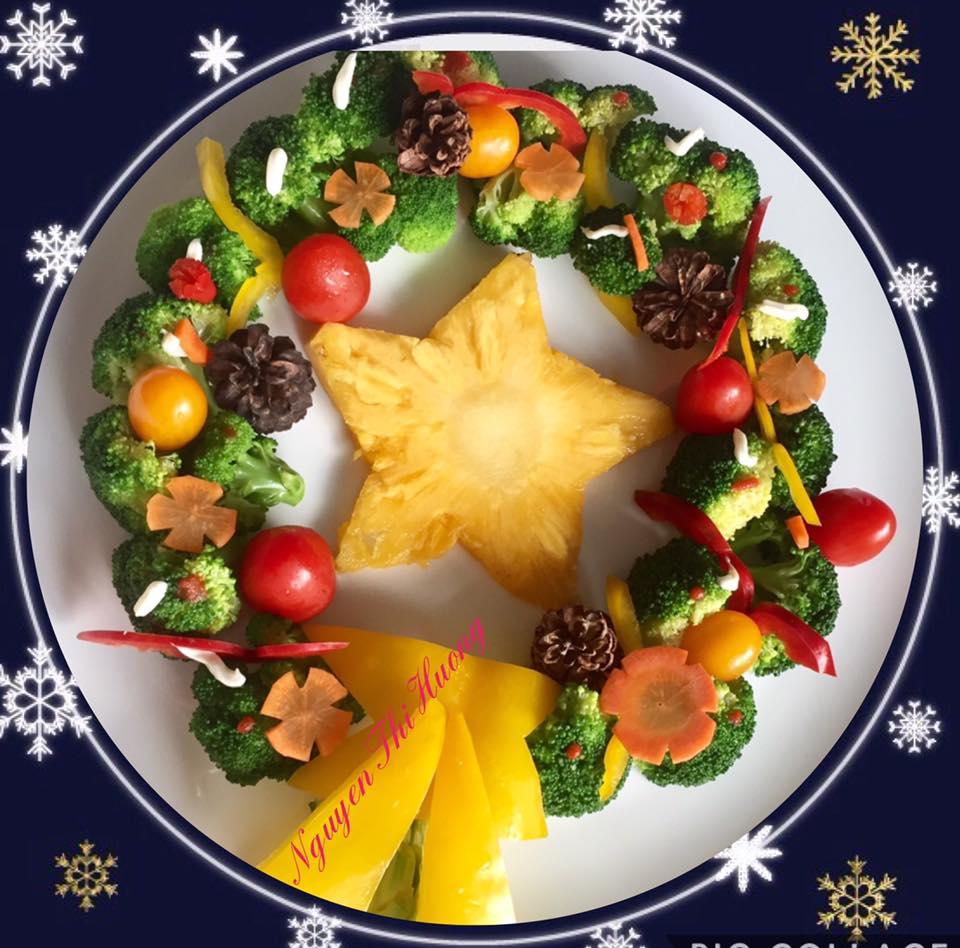 Ngắm hoài không chán những món ăn Noel đẹp lạ của mẹ Việt ở Malaysia - 4