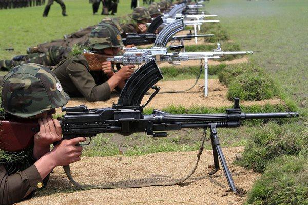 Sự đáng sợ của súng máy Type 73 cực lạ từ Triều Tiên - 4