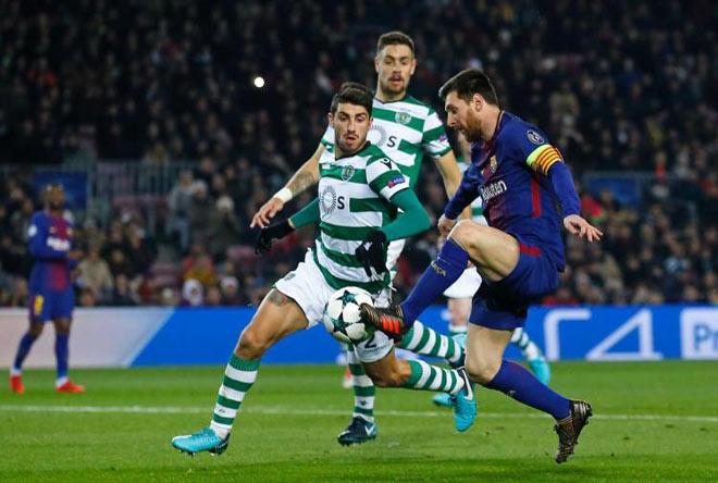 """Messi """"gánh"""" Barca: Xuất chúng phiên bản nâng cấp của Maradona - 1"""
