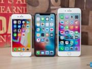 Nhờ iPhone X, Apple sẽ cán mốc doanh số 90 triệu chiếc iPhone