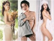 Thời trang - Mỹ nhân Việt bán nude: Kẻ phổng phao, người xẹp lép