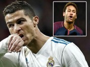 Real dùng Ronaldo  câu  Neymar, mê mẩn SAO sáng Man City
