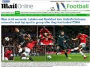 Bóng đá - Báo chí Anh: Sợ Chelsea đụng Barca, MU rực rỡ 40 trận bất bại