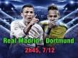 """Real Madrid – Dortmund: Khởi đầu leo núi, Ronaldo chờ ẵm """"Bóng vàng"""""""