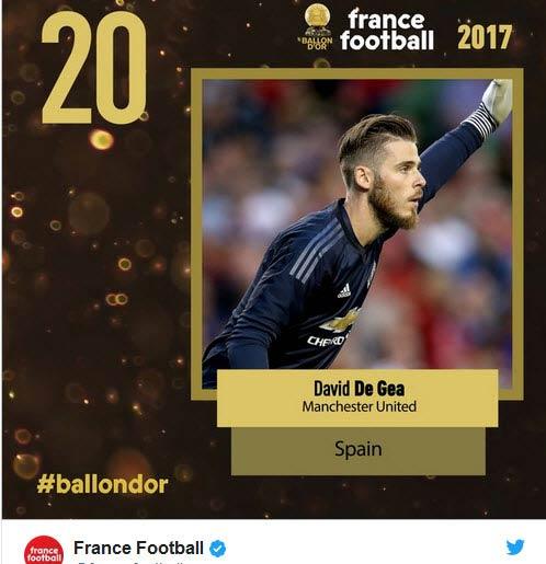 """Quả bóng Vàng 2017: """"Siêu nhân"""" Ronaldo và ngôi sao 5 cánh lấp lánh - 7"""