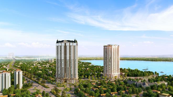 Tầm nhìn sông Hồng đắt giá của căn hộ D'. El Dorado - 1