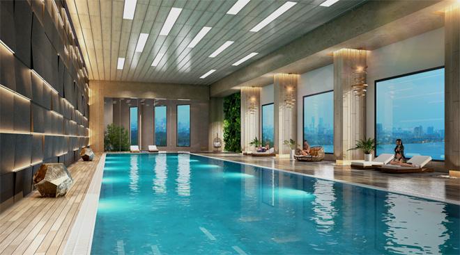 Tầm nhìn sông Hồng đắt giá của căn hộ D'. El Dorado - 2