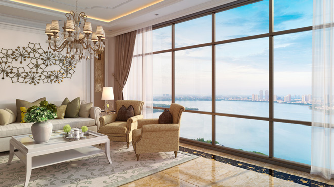 Tầm nhìn sông Hồng đắt giá của căn hộ D'. El Dorado - 3