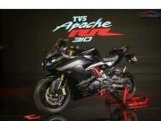 TVS Apache RR 310 trình làng, giá 72 triệu đồng