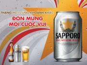 Bia ngon đón mừng lễ hội
