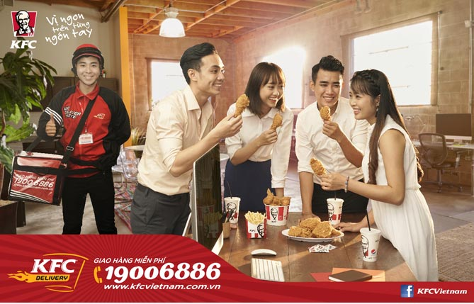 Kỉ niệm 20 năm vàng, KFC gởi ngàn tri ân đến khách hàng - 2