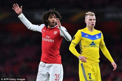 Chi tiết Arsenal - BATE Borisov: Giroud hụt cú đúp, Emirates vẫn tưng bừng (KT) - 4