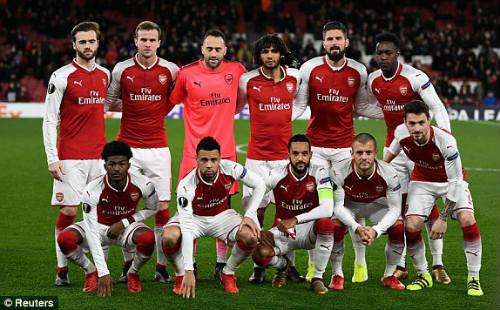 Chi tiết Arsenal - BATE Borisov: Giroud hụt cú đúp, Emirates vẫn tưng bừng (KT) - 3