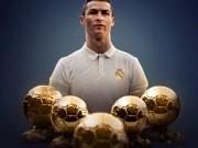 Ronaldo đoạt Bóng Vàng, 2 ngày 2 kỉ lục: Lời thách thức gửi tới Messi