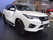 Toyota Fortuner TRD Sportivo 2017 có giá từ 1,15 tỷ đồng