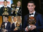 Vĩ nhân Ronaldo - Messi 5 Quả bóng vàng: Cuộc đua vĩ đại nhất lịch sử