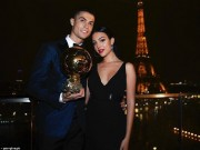 """Quả bóng Vàng 2017:  """" Siêu nhân """"  Ronaldo và ngôi sao 5 cánh lấp lánh"""