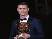 """Bóng đá - Ronaldo đoạt Quả bóng Vàng thứ 5: Nhắc khéo Messi, còn """"tham"""" nữa"""