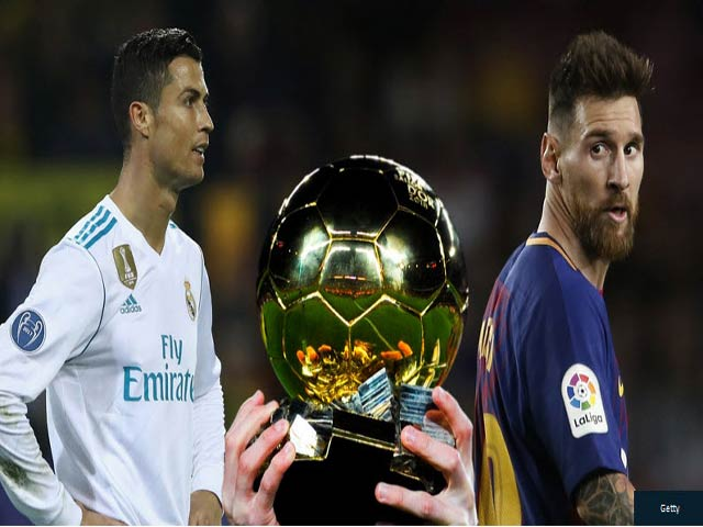 Bóng đá - Điểm số bầu Quả bóng Vàng 2017: Ronaldo vượt trội Messi, gần gấp 3 Neymar