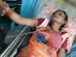 Kinh dị cảnh người phụ nữ bị thanh sắt đâm xuyên cổ