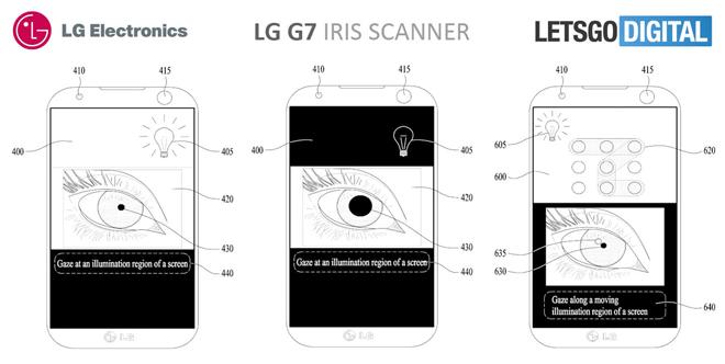 LG G7 sẽ có tính năng quét mống mắt Iris cao cấp - 1