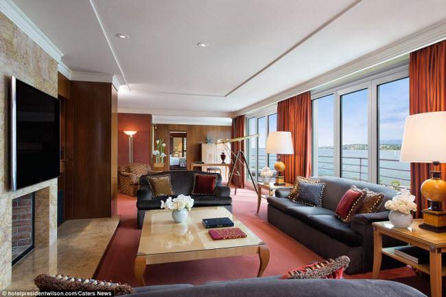 Có gì bên trong phòng khách sạn đắt nhất thế giới? - 5