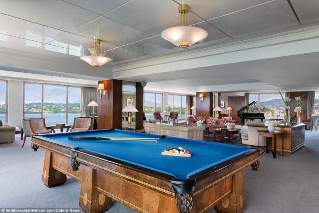 Có gì bên trong phòng khách sạn đắt nhất thế giới? - 11