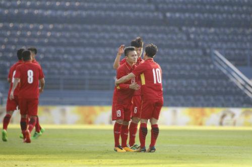Chi tiết U23 Việt Nam - U23 Myanmar: Chiến thắng tưng bừng (KT) - 5