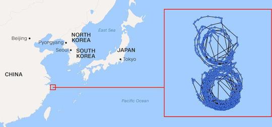 Bí ẩn con tàu Triều Tiên bị LHQ trừng phạt rồi chạy vòng tròn - 2