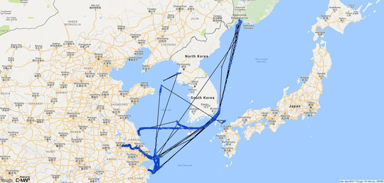 Bí ẩn con tàu Triều Tiên bị LHQ trừng phạt rồi chạy vòng tròn - 3