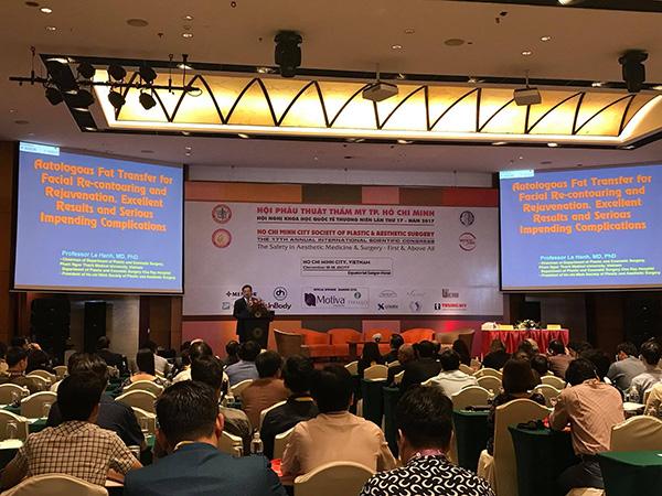 Hội thảo quốc tế về phẫu thuật thẩm mỹ - 1