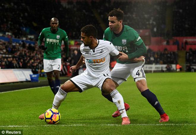 Swansea - West Brom: Cựu sao Man City ra đòn kết liễu - 1