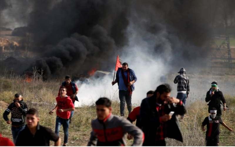 Vụ Jerusalem: Israel bắn đạn thật vào dân Palestine - 2