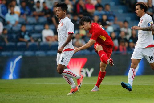 Chi tiết U23 Việt Nam - U23 Myanmar: Chiến thắng tưng bừng (KT) - 10