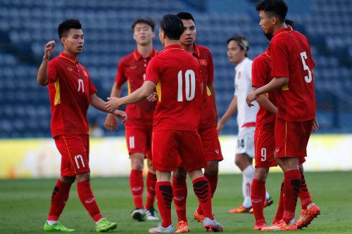 Chi tiết U23 Việt Nam - U23 Myanmar: Chiến thắng tưng bừng (KT) - 11