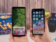 Doanh số mở bán Iphone X chỉ bằng một nửa Galaxy Note8