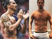 """Đằng sau cơ bắp đồ sộ của """"gã điên sân cỏ"""" Zlatan Ibrahimovic"""