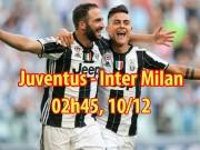 Juventus - Inter Milan: Siêu sao đấu súng, định đoạt ngôi đầu