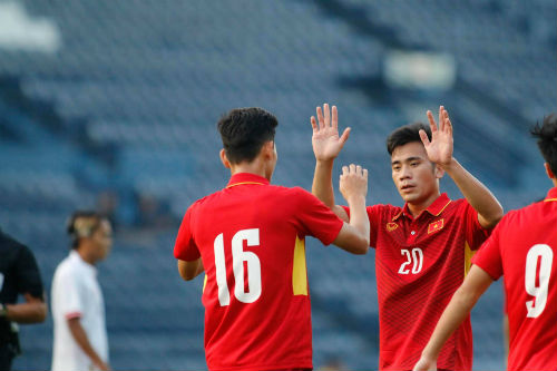 Chi tiết U23 Việt Nam - U23 Myanmar: Chiến thắng tưng bừng (KT) - 9