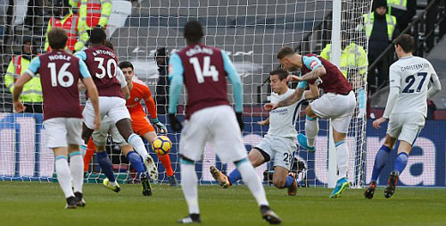 Chi tiết West Ham - Chelsea: Canh bạc tấn công bất thành (KT) - 3