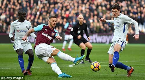 Chi tiết West Ham - Chelsea: Canh bạc tấn công bất thành (KT) - 6