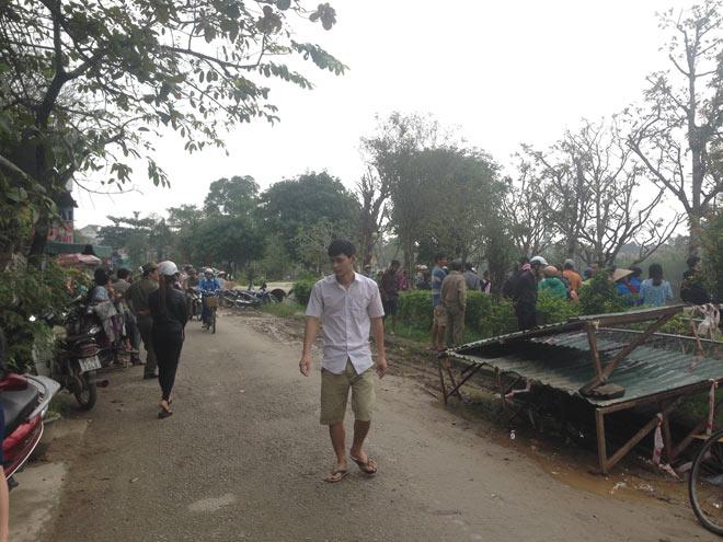 Thi thể nam thanh niên nổi trên sông sau 2 ngày mất tích - 2