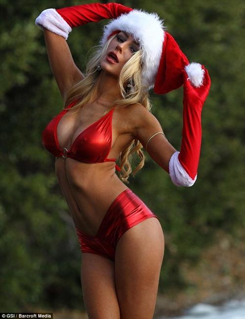 Quên ông già Noel đi, ngắm bà già Noel sexy mới thích! - 12