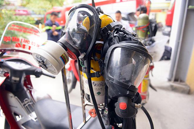 Cận cảnh xe chữa cháy siêu nhỏ, lần đầu xuất hiện ở Hà Nội - 6