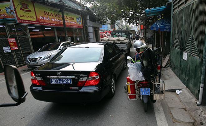 Cận cảnh xe chữa cháy siêu nhỏ, lần đầu xuất hiện ở Hà Nội - 9